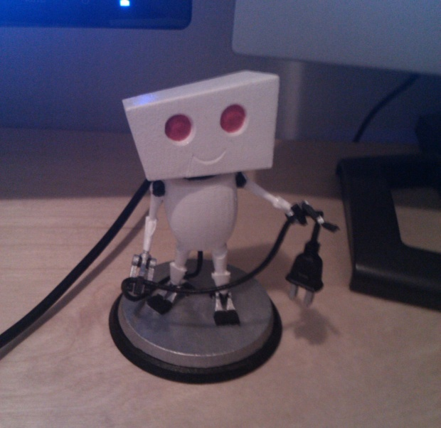 My little robot